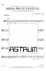 MISSA PRO JUVENTUTE - Orchestra (SATB) Viola
