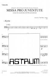 MISSA PRO JUVENTUTE - Orchestra (SATB) Violoncello
