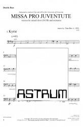MISSA PRO JUVENTUTE - Orchestra (SATB) Double Bass