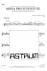 MISSA PRO JUVENTUTE - Orchestra (SATB) Flute I