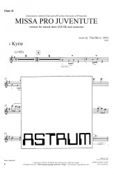 MISSA PRO JUVENTUTE - Orchestra (SATB) Flute II