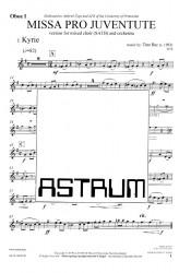 MISSA PRO JUVENTUTE - Orchestra (SATB) Oboe I