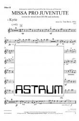 MISSA PRO JUVENTUTE - Orchestra (SATB) Oboe II