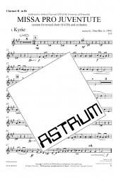 MISSA PRO JUVENTUTE - Orchestra (SATB) Clarinet II in Bb