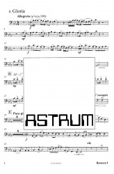 MISSA PRO JUVENTUTE - Orchestra (SATB) Bassoon I