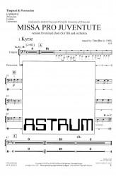 MISSA PRO JUVENTUTE - Orchestra (SATB) Timpani + Percussion