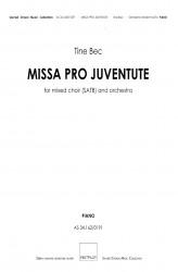 MISSA PRO JUVENTUTE - Orchestra (SATB) Piano