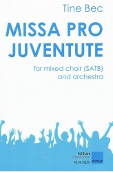 MISSA PRO JUVENTUTE - Orchestra (SATB) Full Score