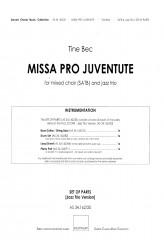 MISSA PRO JUVENTUTE - Jazz (SATB) Full Set of Parts