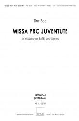 MISSA PRO JUVENTUTE - Jazz (SATB) Bass Guitar / String Bass