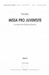 MISSA PRO JUVENTUTE - Jazz (SATB) Drum Set