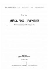 MISSA PRO JUVENTUTE - Jazz (SATB) Lead Sheet