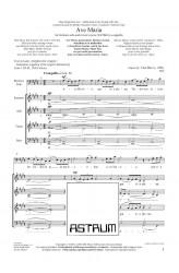 Ave Maria - baritone solo, SATBdiv - 2020