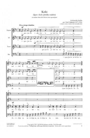 Kolo (The Round Dance) - SATBdiv