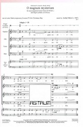 O magnum mysterium (STsolo, SATB div, finger cymbals)
