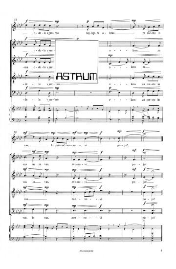 Božično drevo (Christmas Tree) - SATB & Soprano solo
