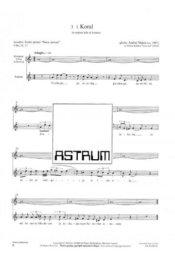 SVETA NOČ [Silent Night] a Christmas cantata - Full Score