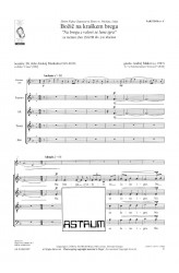 "Božič na kraškem bregu ""Na bregu z valovi se luna igra"" ( Christmas on the Karst Shore ""The moon plays with the waves on the shore"") - SATBdiv and clarinet"