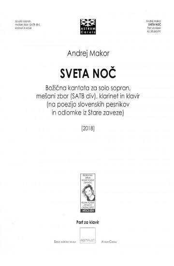SVETA NOČ [Silent Night] a Christmas cantata - Piano