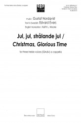 Jul, jul, strålande jul / Christmas, Glorious Time - SSAdiv