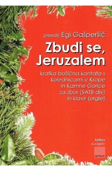 ZBUDI SE, JERUZALEM [WAKE UP, JERUSALEM] - Full Score [performing purchase]