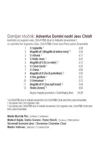 Adventus Domini nostri Iesu Christi (CD)