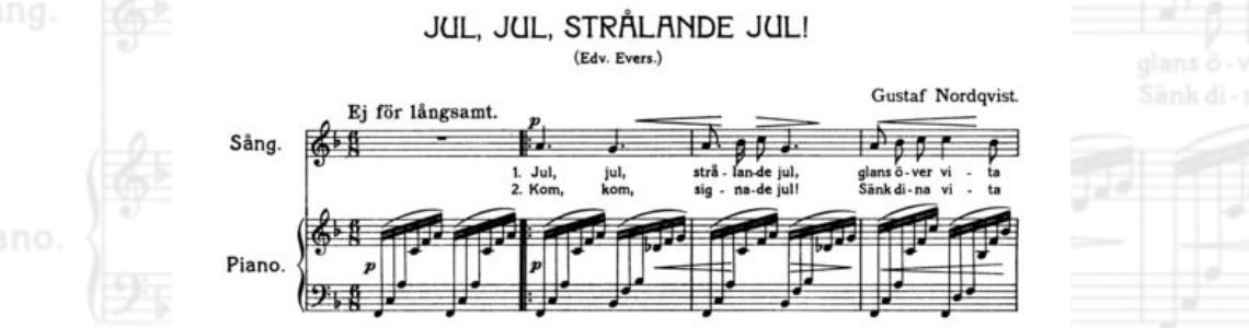 Jul, jul, strålande jul (Christmas, Glorious Time)